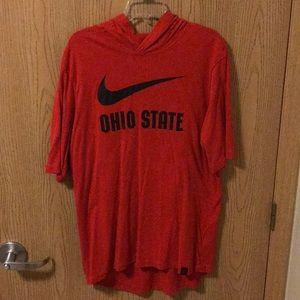 Men's Nike Ohio State Hoodie T-Shirt